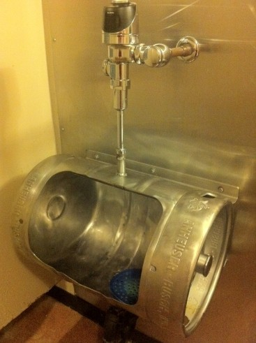 The Anheuser-Busch Memorial Urinal