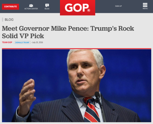 Mike Pence is a Devil